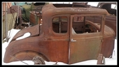 1930 / 31 FORD MODEL A COUPE BODY ORIGINAL SOLID !