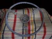 1937 - 1939 FORD ACCESSORY BANJO STEERING WHEEL