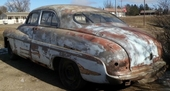 1949 MERCURY 4 DR SEDAN PROJECT CAR