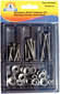 Assorted 54 Piece Stainless Steel Oval Machine Screw Kit -Handiman