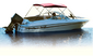 3 Bow Bimini Top Aluminum Frame Only - Unassembled -Attwood Marine