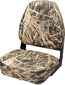 Camouflage High-Back Fold-Down Seat -Wise Seating