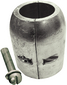Clamp Shaft Anodes - With Slotted Screw -Martyr Anodes