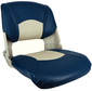 Injection Molded Fold Down Seats With Cushions -Springfield Marine