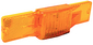 Submersible Amber Side - Marker Light W/ Reflector -Seachoice