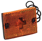 Clearance/Side Marker Light With Reflex Lens -Wesbar