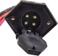 V-Groove Trolling Motor Plug And Receptacle -Rig Rite