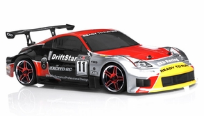 1/10 2.4Ghz Exceed RC Electric DriftStar RTR Drift Car 350 Red Version