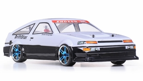 1/10 2.4Ghz Exceed RC Electric DriftStar RTR Drift Car White Version