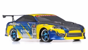 1/10 2.4Ghz Exceed RC Electric DriftStar RTR Drift Car Yellow Version
