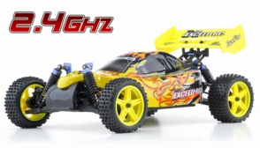 1/10 2.4Ghz Exceed RC Electric SunFire RTR Off Road Buggy Storm Yellow