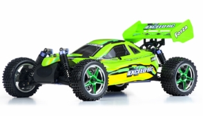 1/10 2.4Ghz Exceed RC Forza .18 Engine RTR Nitro Powered Off Road Buggy (Baha Green)