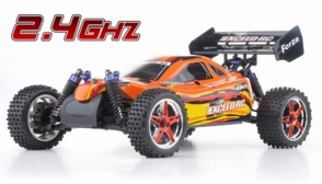 1/10 2.4Ghz Exceed RC Forza .18 Engine RTR Nitro Powered Off Road Buggy Baha Red