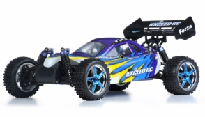 1/10 2.4Ghz Exceed RC Forza .18 Engine RTR Nitro Powered Off Road Buggy (Fire Blue)