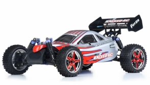 1/10 2.4Ghz Exceed RC Forza .18 Engine RTR Nitro Powered Off Road Buggy (Red)