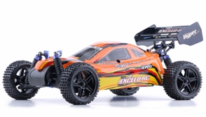 1/10 2.4Ghz Exceed RC Hyper Speed Beginner Version .16 Engine Nitro Powered Off Road Buggy Baha Red