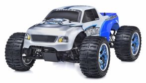 1/10 2.4Ghz Exceed RC Infinitve Nitro Gas Powered RTR Off Road Monster 4WD Truck Blue
