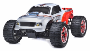 1/10 2.4Ghz Exceed RC Infinitve Nitro Gas Powered RTR Off Road Monster 4WD Truck Red