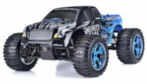 1/10 2.4Ghz Exceed RC Infinitve Nitro Gas Powered RTR Off Road Monster 4WD Truck (Sava Blue)