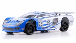 1/10 2.4Ghz Exceed RC Nitro Gas Powered Ultra RTR On Road Racing Car Fire Blue