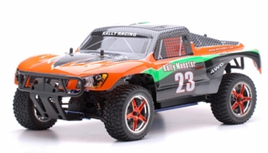 1/10 2.4Ghz Exceed RC Rally Monster Nitro Gas Powered RTR Off Road Rally Car 4WD Truck Carbon Orange