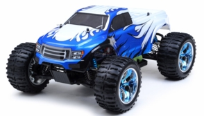 1/10 Exceed RC Brushless PRO 2.4Ghz Electric Infinitive EP RTR Off Road Truck (CC Blue)