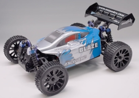 1/16 2.4Ghz Exceed RC Blaze EP Electric RTR Off Road Buggy Max Blue