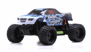 1/16 2.4Ghz Exceed RC Magnet EP Electric RTR Off Road Truck Fire Blue