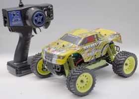 1/16 2.4Ghz Exceed RC Magnet EP Electric RTR Off Road Truck Stripe Yellow