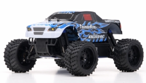 1/16 2.4Ghz Exceed RC ThunderFire Nitro Gas Powered  RTR Off Road Truck Fire Black