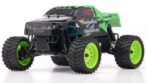 1/16 2.4Ghz Exceed RC ThunderFire Nitro Gas Powered  RTR Off Road Truck Sava Green
