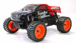 1/16 2.4Ghz Exceed RC ThunderFire Nitro Gas Powered  RTR Off Road Truck Sava Red