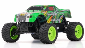 1/16 2.4Ghz Exceed RC ThunderFire Nitro Gas Powered  RTR Off Road Truck Stripe Green