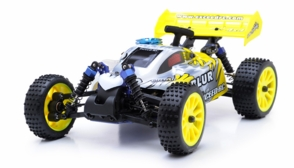 1/16 Exceed RC Blur Nitro Remote Control RC Buggy (MaxYellow 2.4G RTR)
