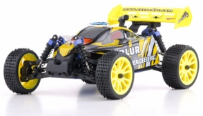 1/16 Exceed RC Blur Nitro Remote Control RC Buggy (WildYellow 2.4G RTR)