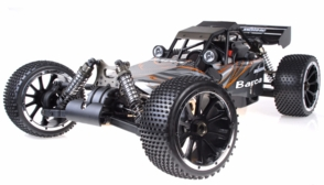 1/5th Giant Scale Exceed RC Barca 30cc Gas-Powered Off-Road Remote Control RC Buggy  Almost Ready to Run ARTR (Orange)