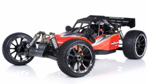 1/5th Giant Scale Exceed RC Barca 30cc Gas-Powered Off-Road Remote Control RC Buggy w/ 2.4Ghz 100% Ready-to-Run (AA Red)
