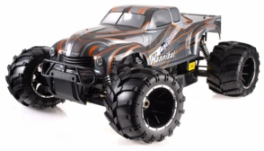 1/5th Giant Scale Exceed RC Hannibal 30cc Gas-Engine Remote Controlled Off-Road RC Monster Truck Almost Ready to Run ARTR  (Orange)