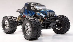 1/8 th Scale Exceed RC Monster Truck MadBeast Nitro Gas Almost Ready to Run ARTR  Version