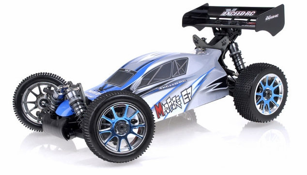 1/8Th 2.4Ghz Exceed RC MadFire Electric Brushless Racing Edition RTR Ready to Run Buggy Alpha Blue