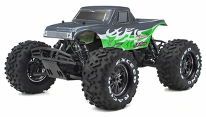 1/8Th EP Mad Beast Monster Truck Racing Edition Almost Ready to Run ARTR w/ 540L Brushless Motor/ ESC (Green)