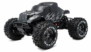1/8Th EP Mad Beast Monster Truck Racing Edition Almost Ready to Run ARTR w/ 540L Brushless Motor/ ESC/ Lipo Battery (Black/Silver)