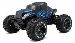 1/8Th EP Mad Beast Monster Truck Racing Edition Ready to Run w/ 540L Brushless Motor/ ESC/ Lipo Battery (Black/Blue)
