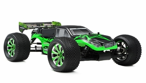 1/8Th EP Mad Warrior Racing Edition Truggy Almost Ready to Run ARTR Brushless Motor/ESC/Lipo (Star Green)