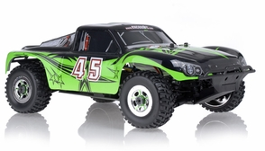 1/8Th Exceed RC Madbash Electric Brushless Racing Edition Almost Ready to Run ARTR  Rally Car Star Green