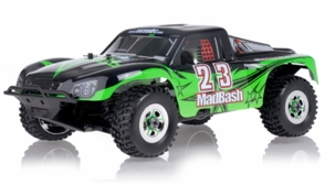 1/8Th Exceed RC Madbash Nitro Powered RTR Ready to Run Limited Edtion .21 Engine  Rally Car Star Green