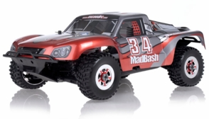 1/8th Exceed RC Madbash Nitro Powered RTR Ready to Run Racing Edtion Rally .28 Engine Car Bravo Red