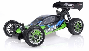 1/8Th Exceed RC MadFire Electric Brushless Racing Edition Almost Ready to Run ARTR  Buggy Gama Green