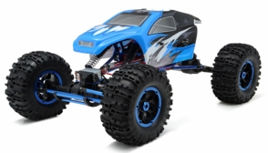 1/8Th Mad Torque Rock Crawler Almost Ready to Run ARTR (Blue)