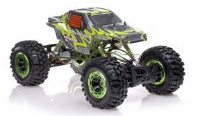 1/8th Scale 2.4Ghz Exceed RC MaxStone 4WD Powerful Electric Remote Control Rock Crawler Almost Ready to Run ARTR